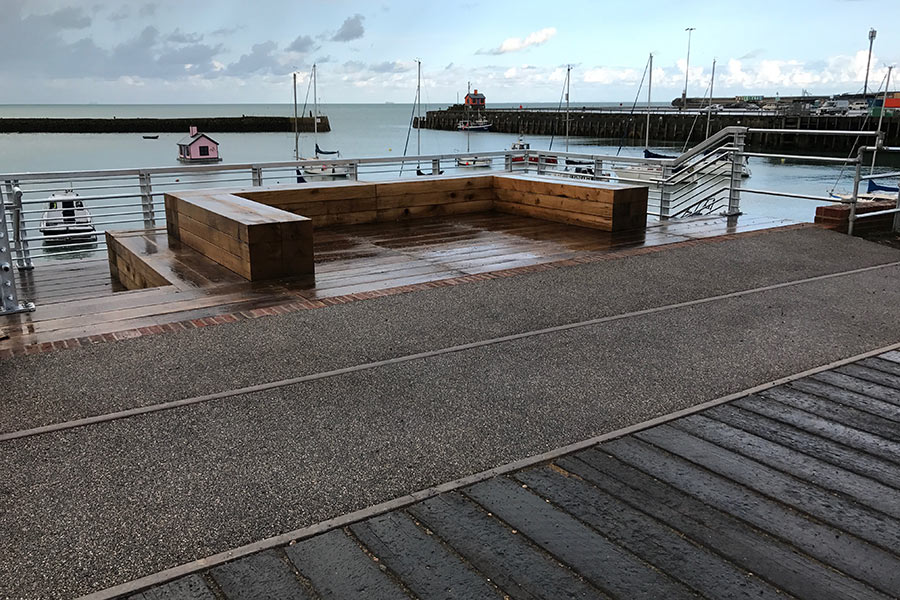 Folkestone Harbour Architectural case study for Martello