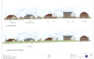 English Rural Housing Association Project in Hernhill, Kent.