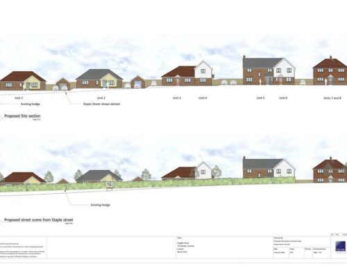 Planning Permission Granted for English Rural Housing Association Project in Hernhill, Kent.